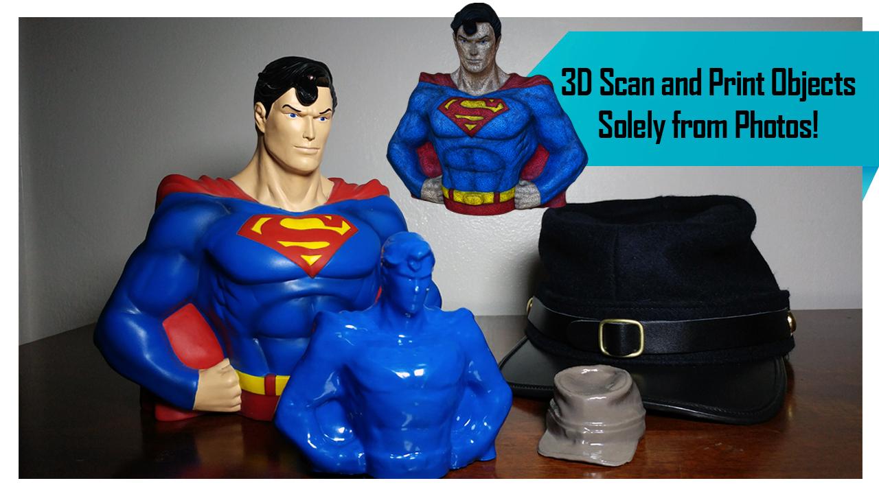 Turn Photos into a 3D Print