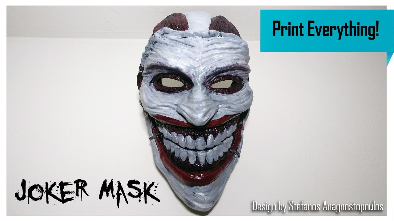 Joker Mask In Dhoom 3 Joker Mask
