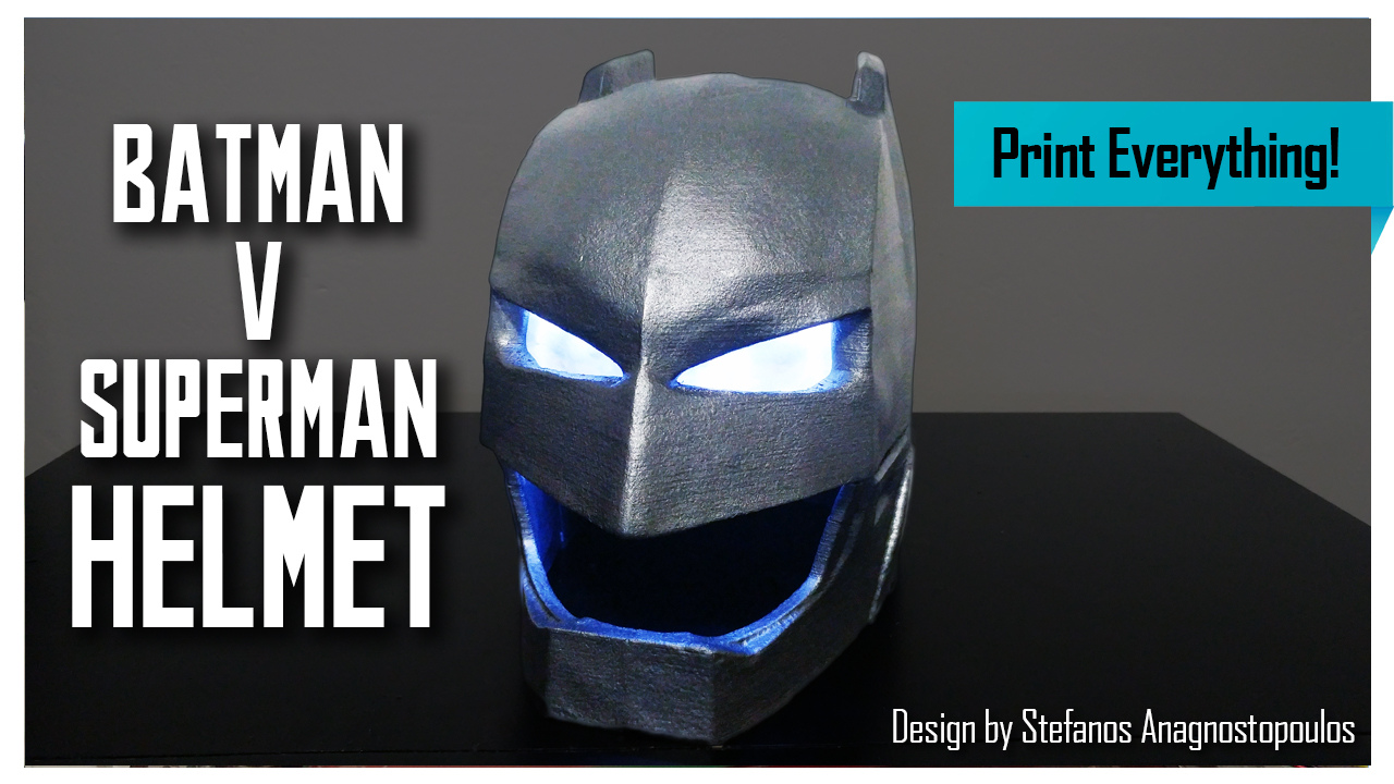Batman v Superman Helmet