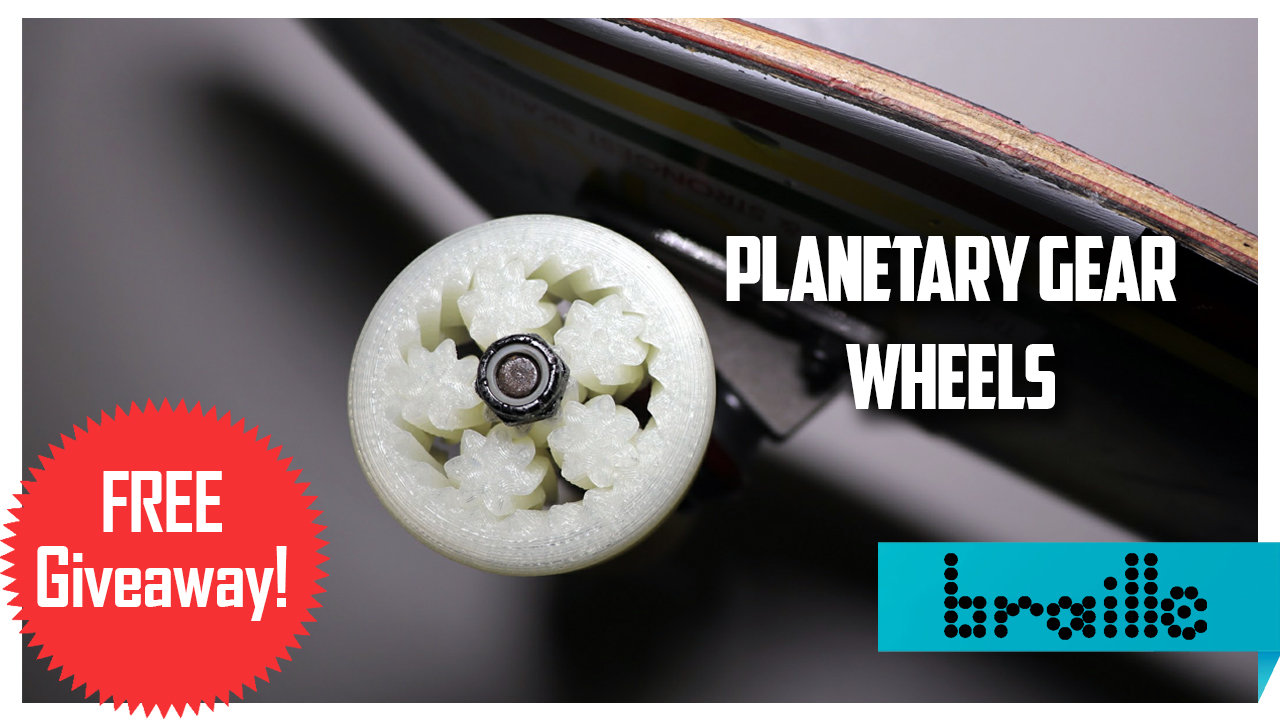3d printed planetary gear wheels