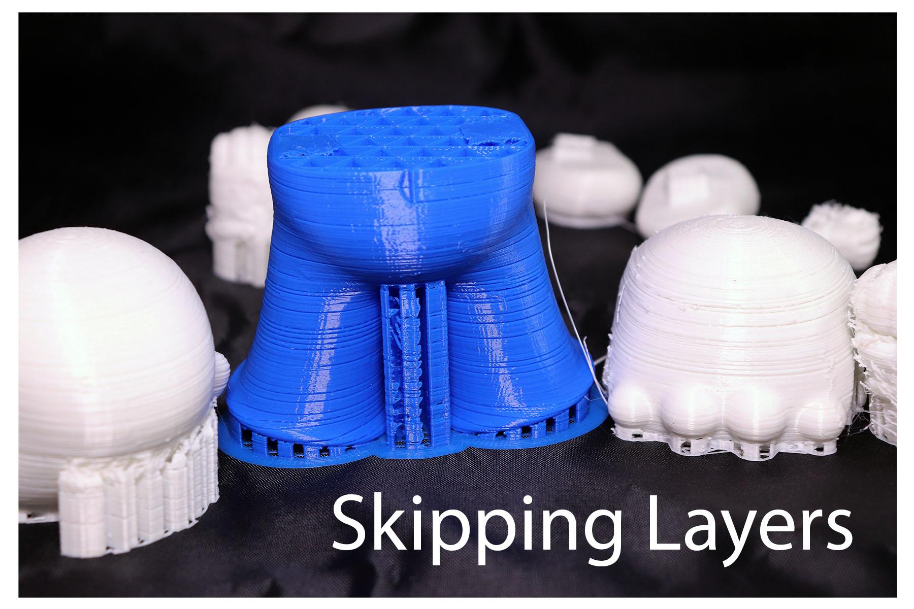 3d printing failure skipping layers