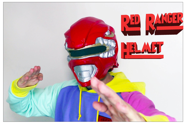 3d printed power ranger helmet