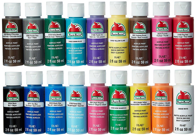 acrylic paint set colors d print general