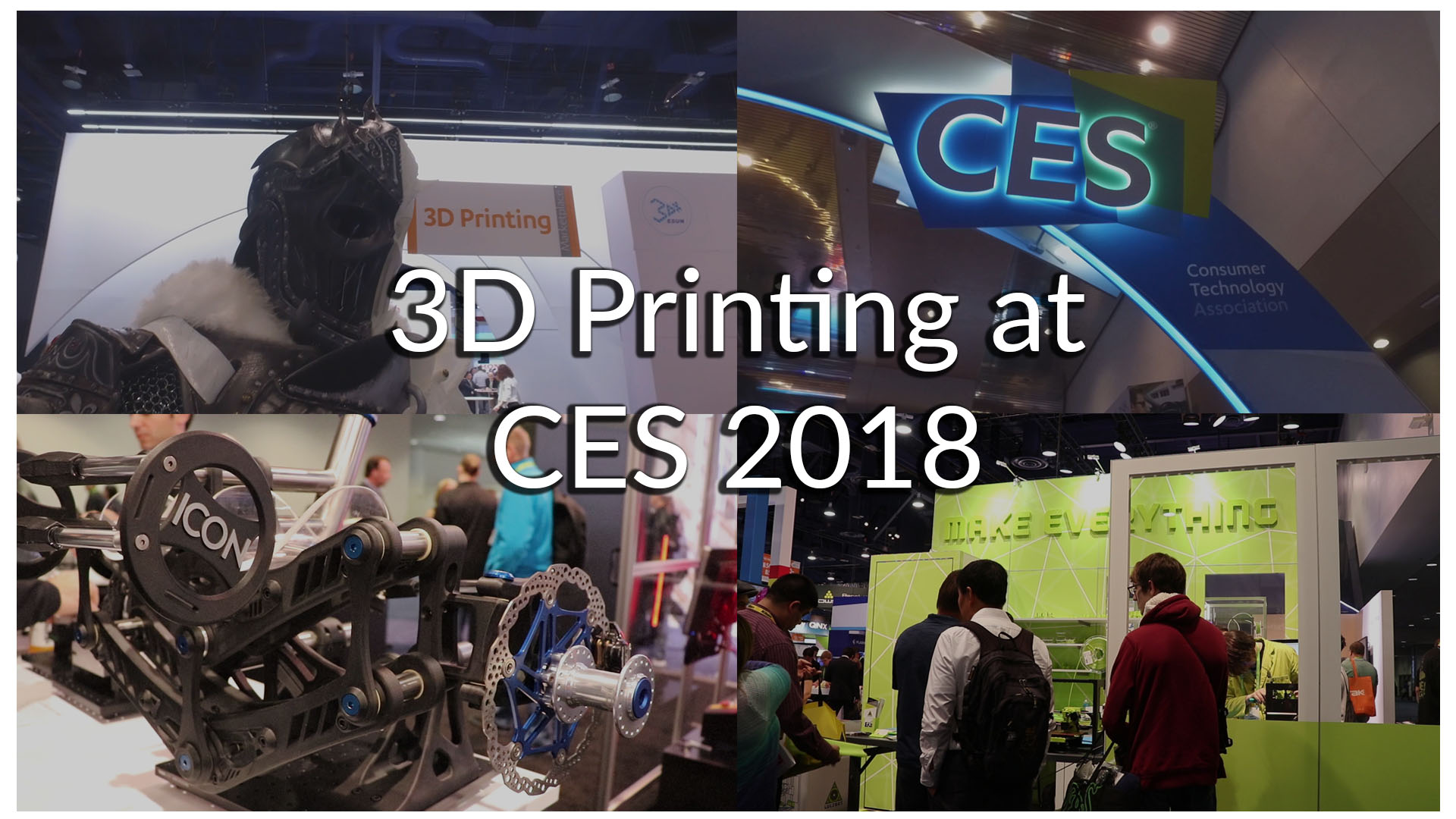 3D Printing CES 2018