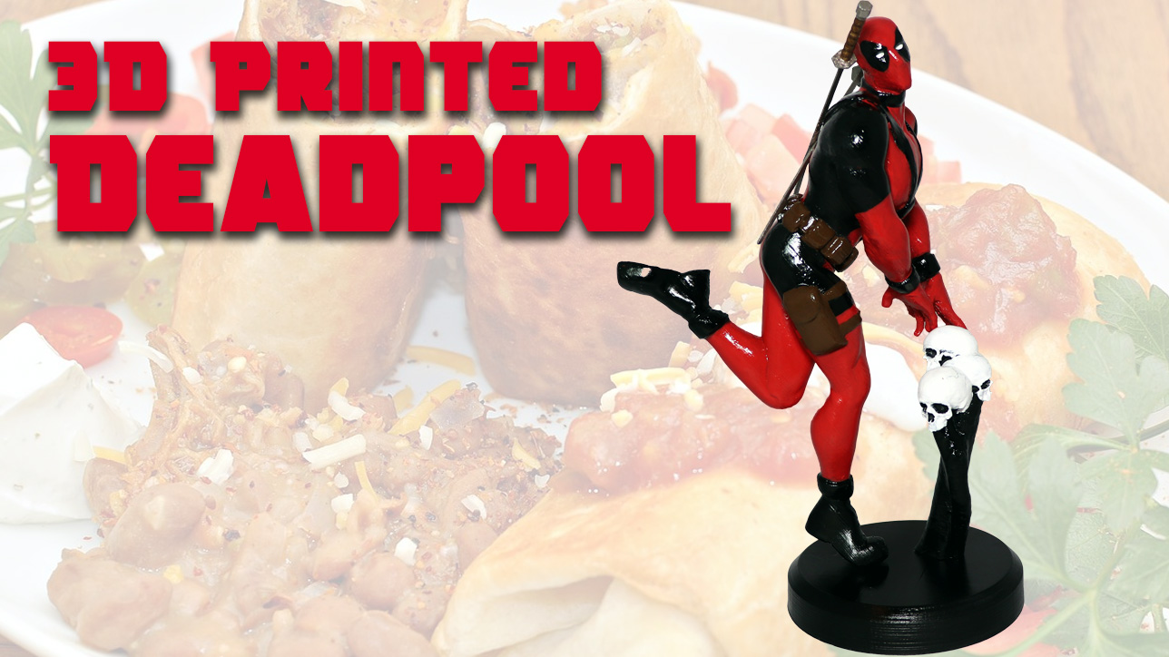 3D Printed Deadpool