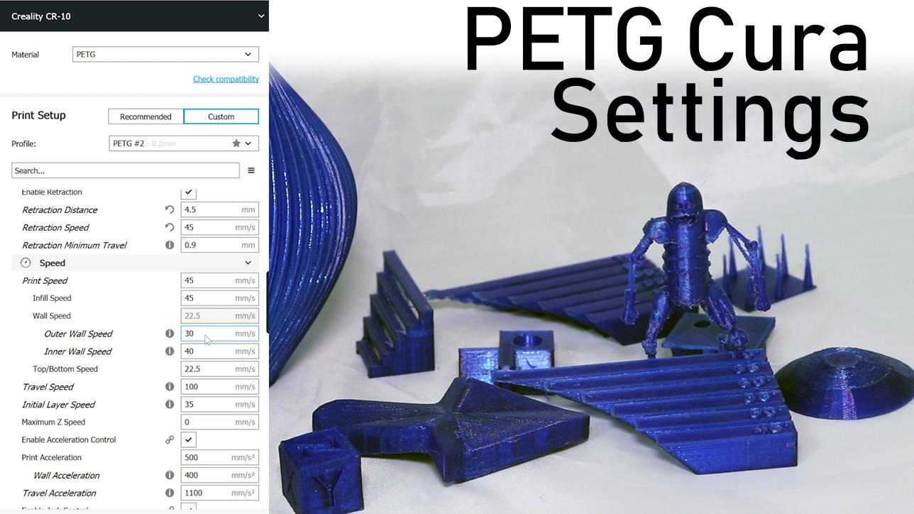 PETG Cura Settings