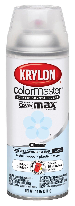 Clear Glossy Spray Paint