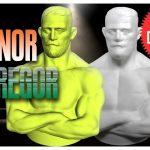3d printed conor mcgregor