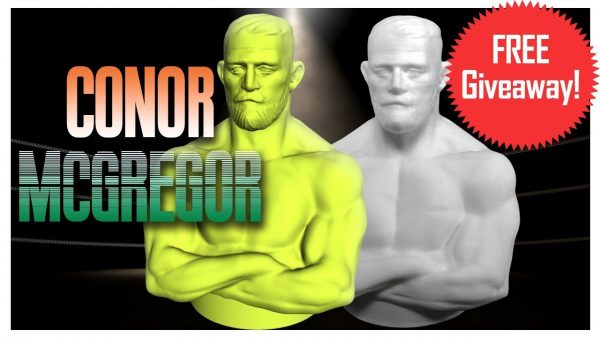3d printed conor mcgregor