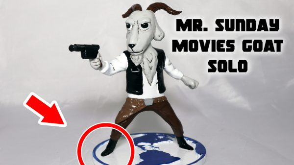 3d printed mr sunday movies