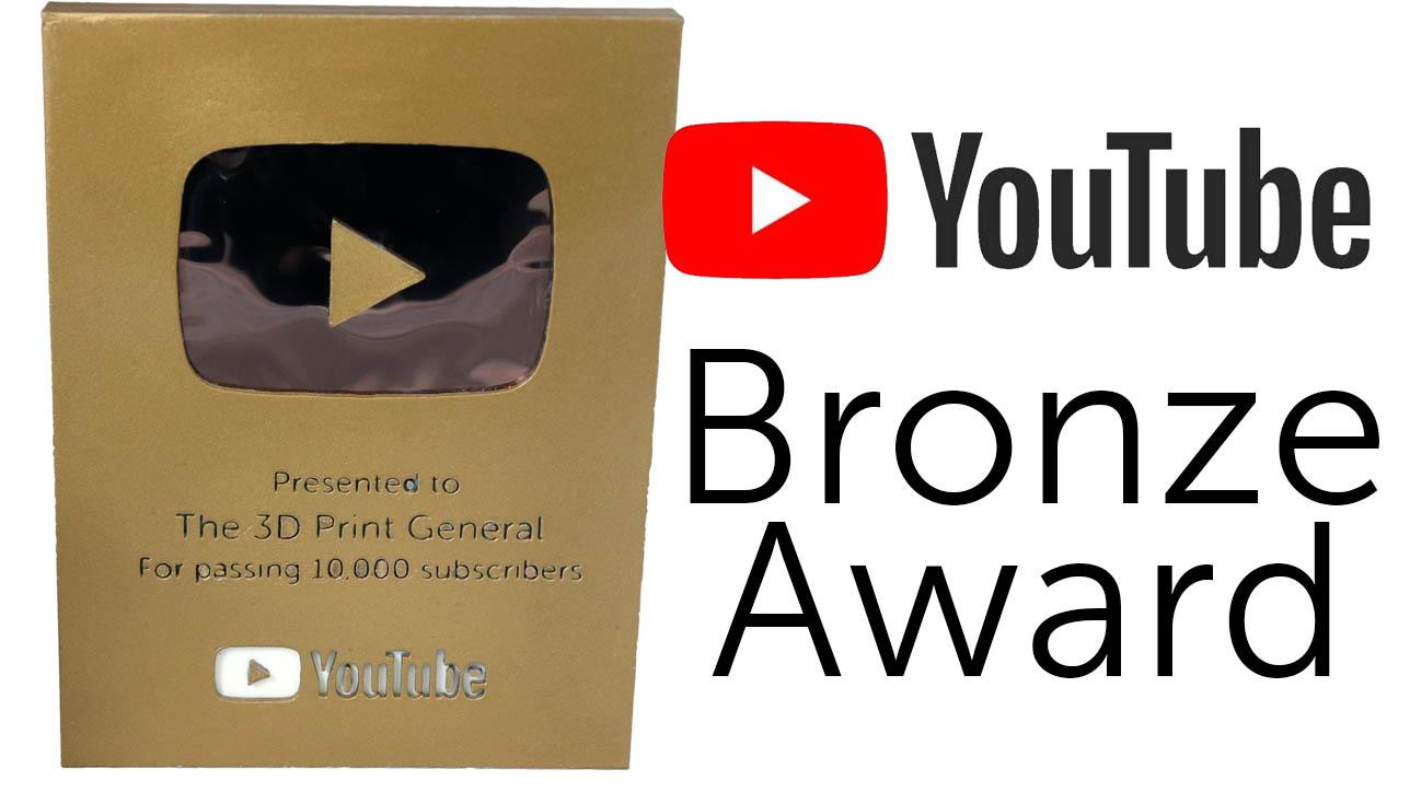Youtube Bronze Award