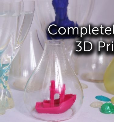 Transparent 3D Prints