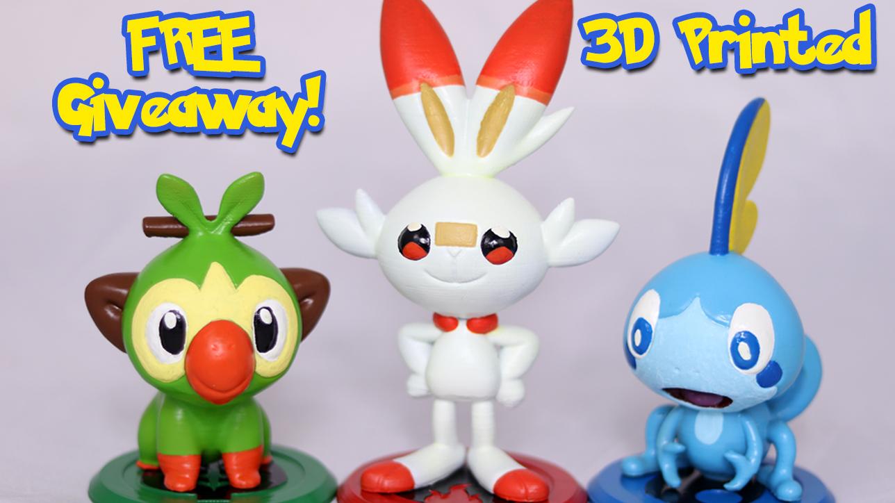 3D Printed Pokemon