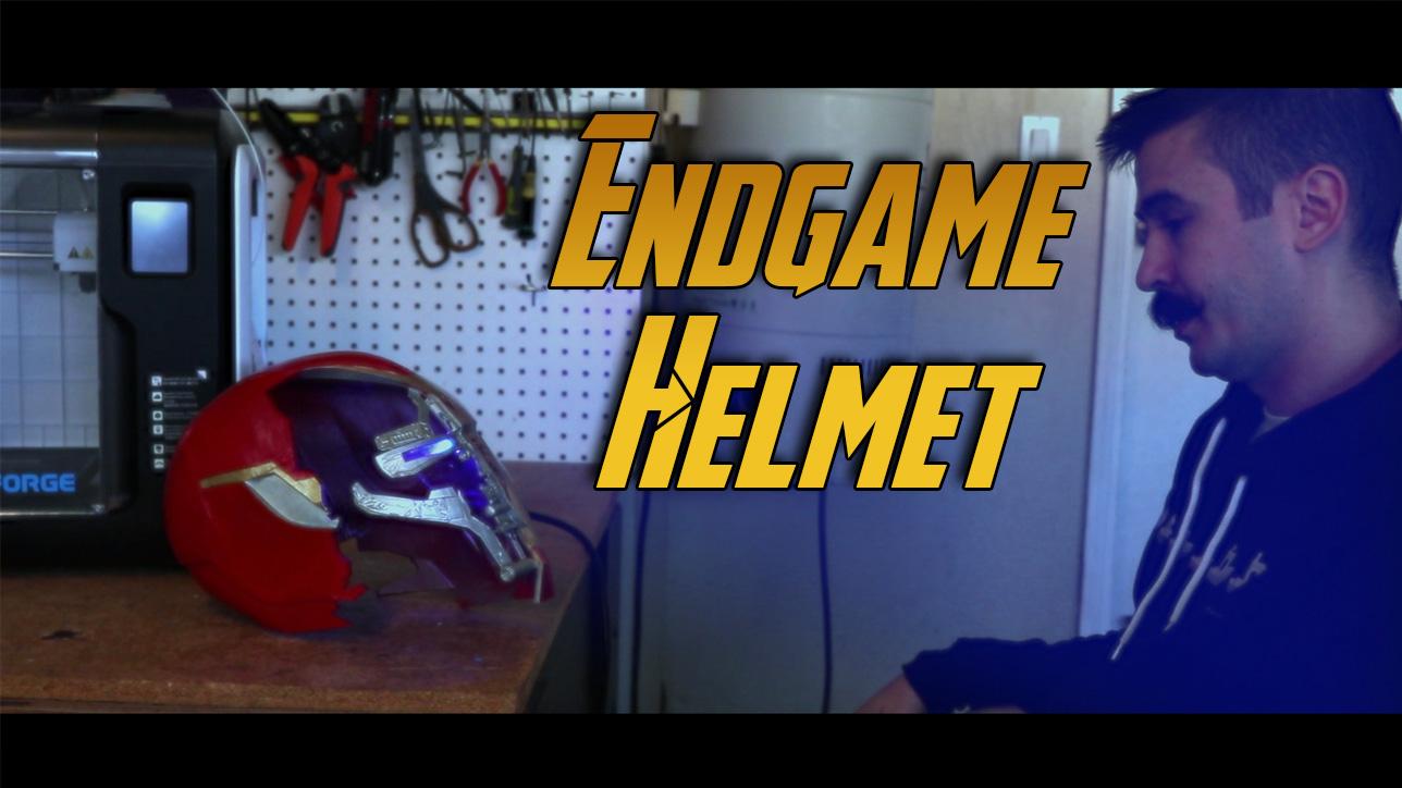 3d printed Avengers Endgame
