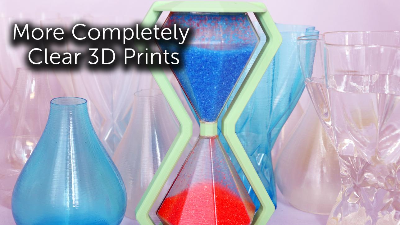 Clear 3D Prints