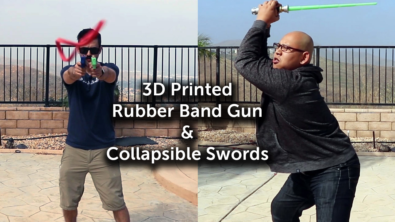 3D printed Toy Weapons