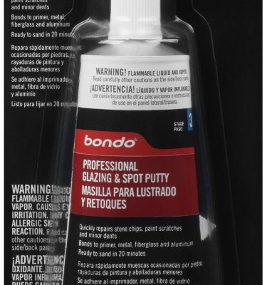 Bondo spot putty