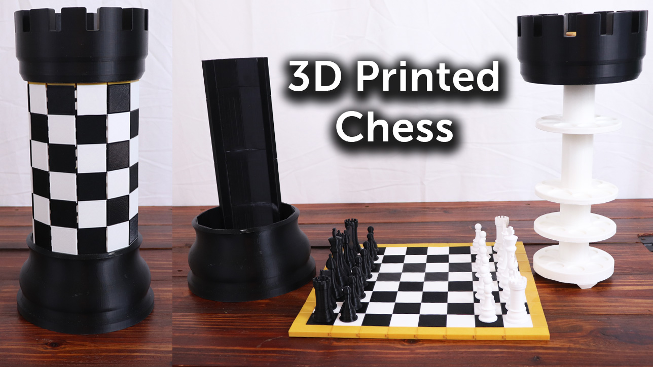 3D Printed Chess