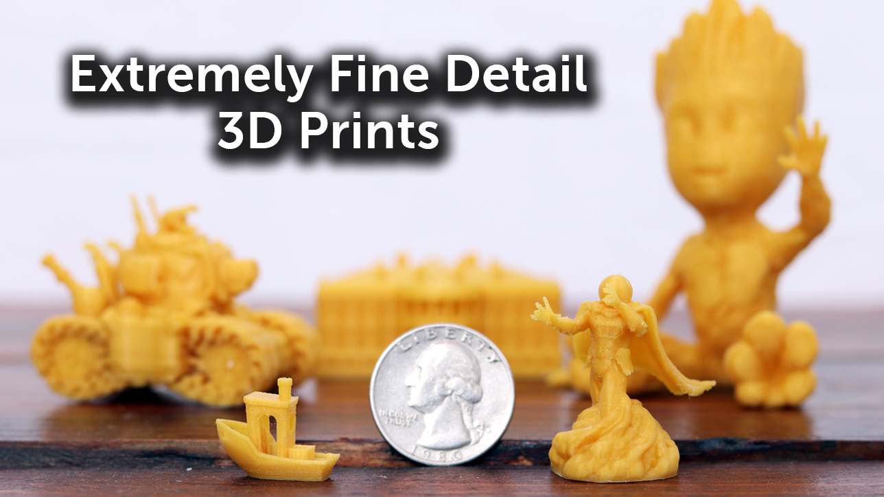 3D Printing with Extremely Fine Nozzles