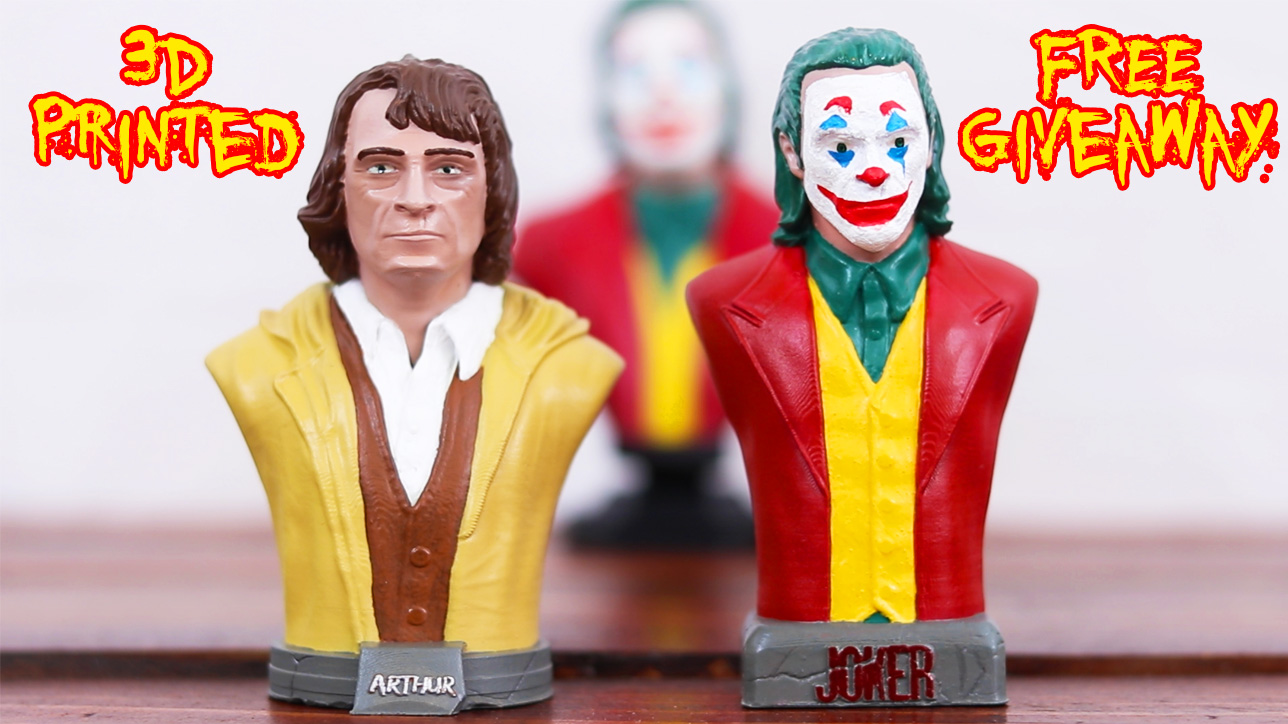 Joker and Arthur Fleck 3d printed