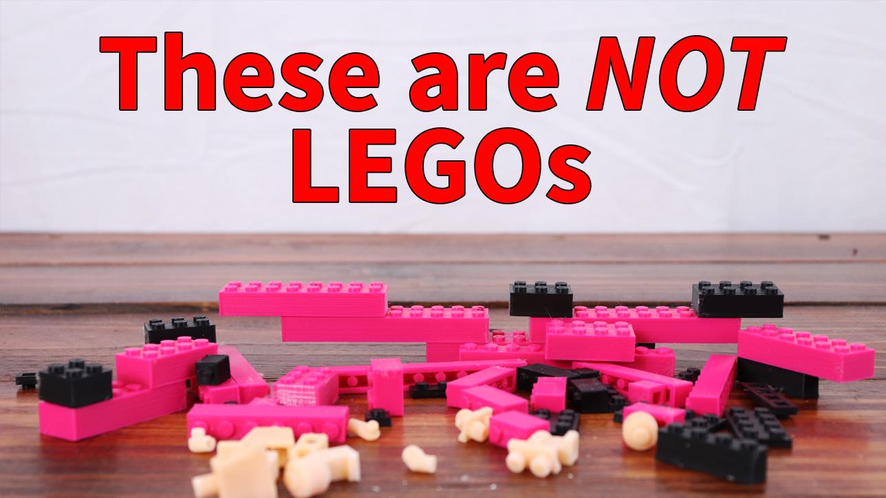 Lego 3D Print