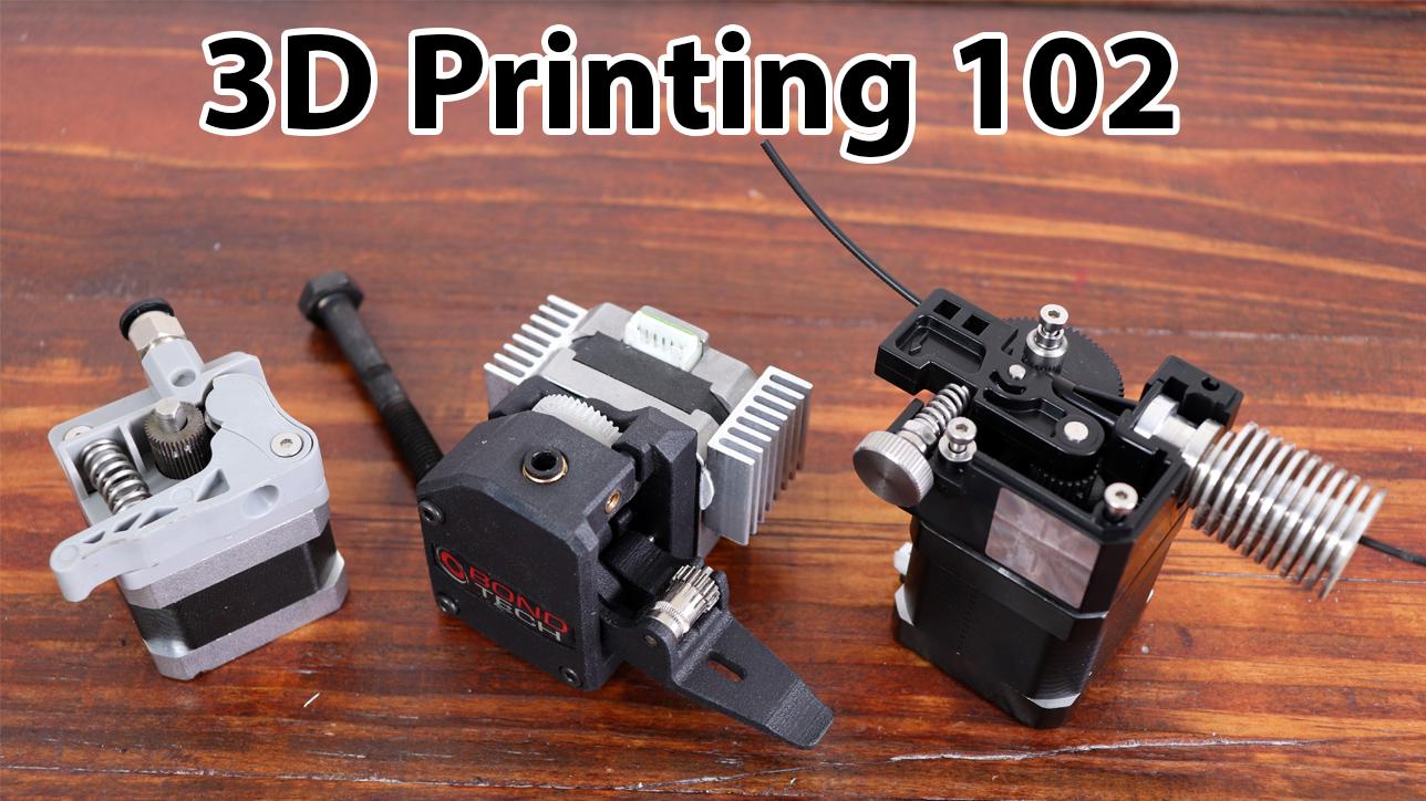 3D printing 102