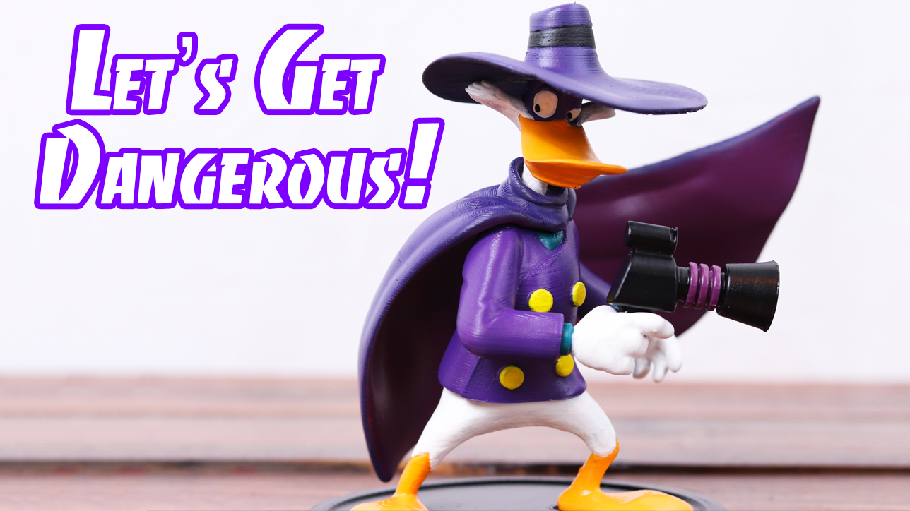 3d printed darkwing duck - Where can i buy a 3d printed house ...
