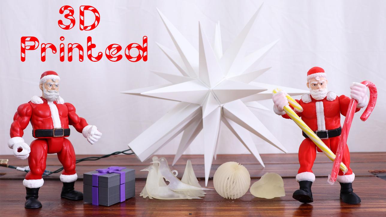 3D Printed Christmas