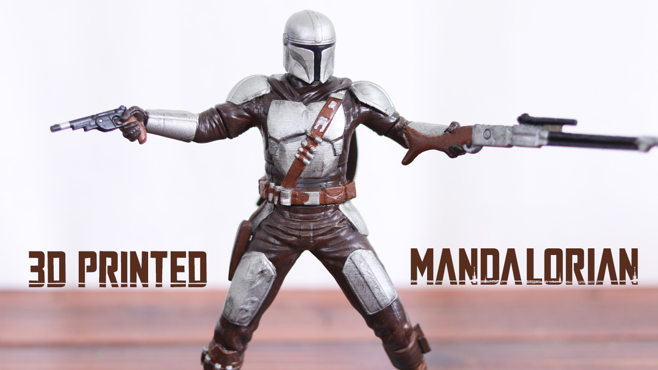 The Mandalorian 3D Printed