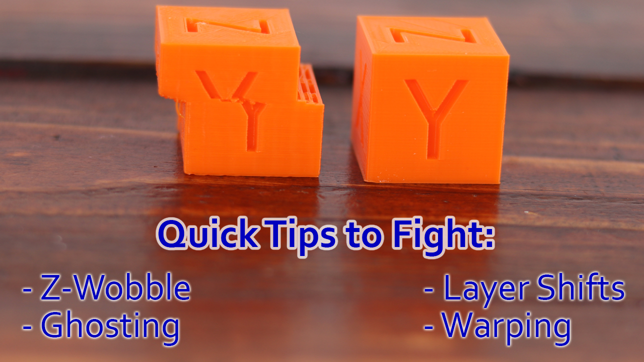 Tips for 3D printers