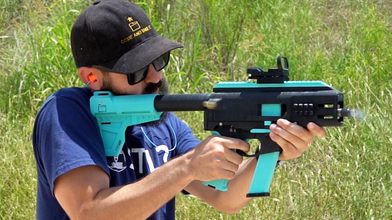 fgc-9 3D printed gun