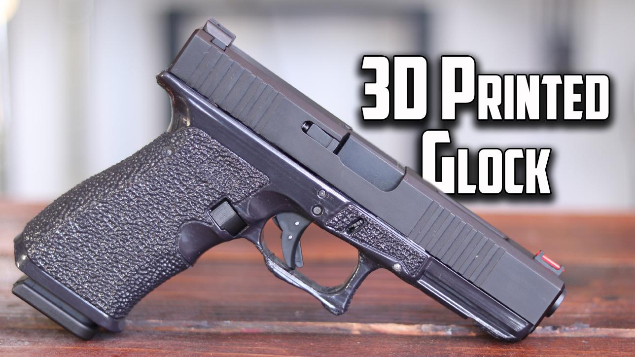 3D Printed Glock 17